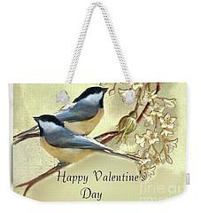 Valentine Day Vintage Postcard Weekender Tote Bag
