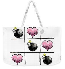 Valentine Violence Weekender Tote Bag