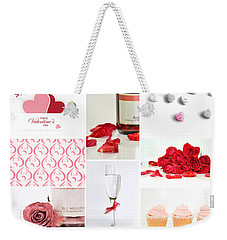 Valentine's Collage Weekender Tote Bag