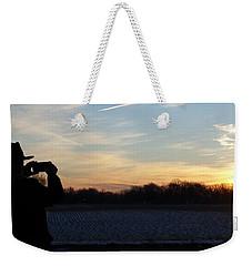 Valentines Sunrise Weekender Tote Bag