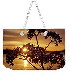 Valerian Sunset Weekender Tote Bag by Jouko Lehto