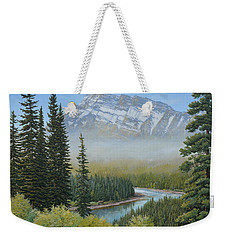 Valley Floor Weekender Tote Bag
