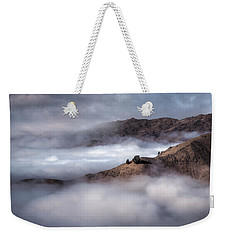 Valley In The Clouds Weekender Tote Bag