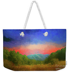 Valley In The Cove Weekender Tote Bag