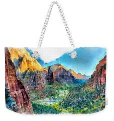Valley Of Colours. Weekender Tote Bag