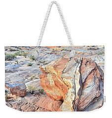 Valley Of Fire Alien Boulder Weekender Tote Bag