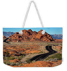 Valley Of Fire Weekender Tote Bag