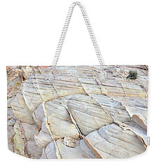 Valley Of Fire Sandstone Weekender Tote Bag by Ray Mathis