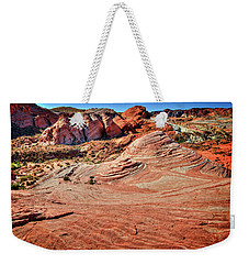 Valley Of Fire State Park Nevada Weekender Tote Bag by James Hammond