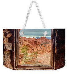 Valley Of Fire Window View Weekender Tote Bag