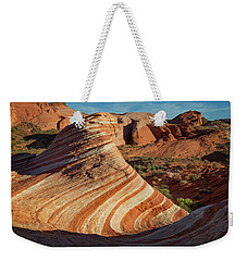 Valley Of Fire Xiv Weekender Tote Bag