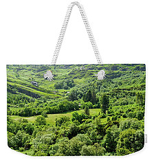 Valley Of Green Weekender Tote Bag