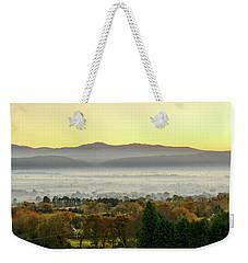 Valley Of Mist Weekender Tote Bag