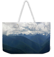 Weekender Tote Bag featuring the photograph Valley Of The Olympics by Tikvah's Hope