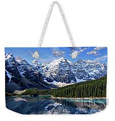 Valley Of The Ten Peaks Weekender Tote Bag
