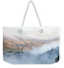 Valley Of Whispers Weekender Tote Bag by Az Jackson