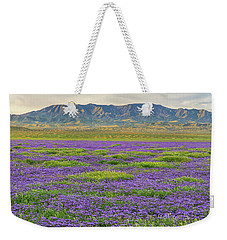 Valley Phacelia And Caliente Range Weekender Tote Bag