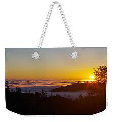 Valley Sunset Weekender Tote Bag