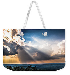 Weekender Tote Bag featuring the photograph Valley Views by Parker Cunningham