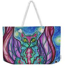 Vampy Kitty Weekender Tote Bag