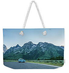 Van Life Weekender Tote Bag by Alpha Wanderlust