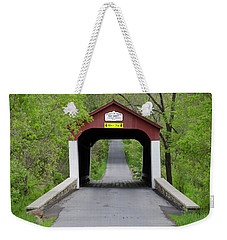 Van Sandt Covered Bridge - Bucks County Pa Weekender Tote Bag