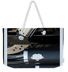 Weekender Tote Bag featuring the photograph Vance And Hines by Wendy Wilton