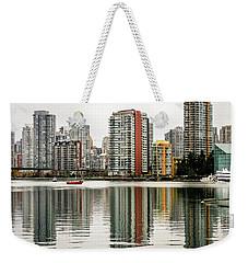 Vancouver Bc Sky Line Weekender Tote Bag