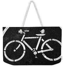 Vancouver Bike Lane- Art By Linda Woods Weekender Tote Bag