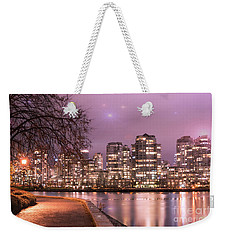 Weekender Tote Bag featuring the photograph Vancouver, Canada by Juli Scalzi