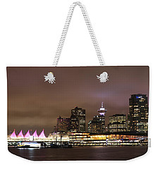 Vancouver Canada Place Weekender Tote Bag