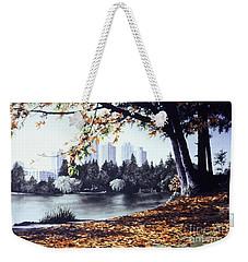 Vancouver Fall Weekender Tote Bag