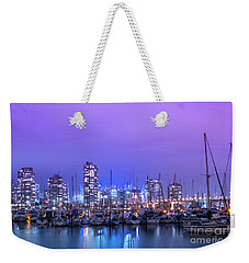 Weekender Tote Bag featuring the photograph Vancouver by Juli Scalzi