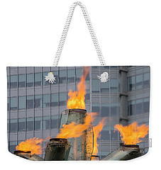 Vancouver Olympic Cauldron 2 Weekender Tote Bag