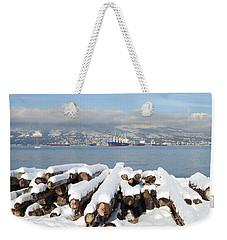 Vancouver Winter Weekender Tote Bag