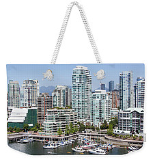 Vancouver's West End Weekender Tote Bag