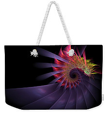 Vanquishing Silence Weekender Tote Bag by NirvanaBlues