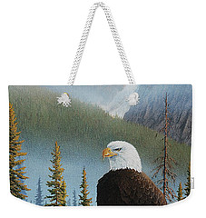 Vantage Point Weekender Tote Bag