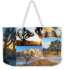 Variety Of Joshua Tree Collage Weekender Tote Bag