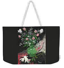 Vase And Gloves Weekender Tote Bag