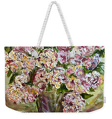 Vase Of Flowers Weekender Tote Bag