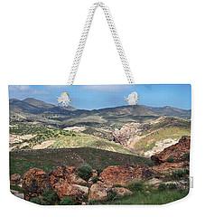 Vasquez Rocks Park Weekender Tote Bag by Kyle Hanson