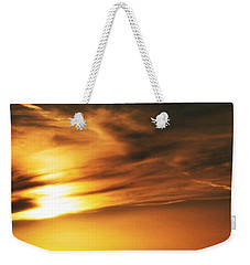 Weekender Tote Bag featuring the photograph Vastness by Nikki McInnes