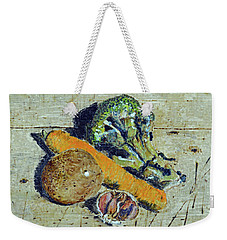 Veg On The Chopping Block Weekender Tote Bag
