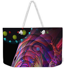 Weekender Tote Bag featuring the painting Vegas Dreams by Kevin Caudill