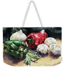 Vegetable Golly Wow Weekender Tote Bag by Joey Agbayani