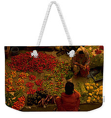 Vegetable Market In Malaysia Weekender Tote Bag
