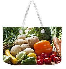 Vegetables Weekender Tote Bag by Elena Elisseeva