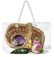 Veggie Basket Weekender Tote Bag