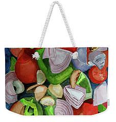 Veggies Weekender Tote Bag by Sandy McIntire